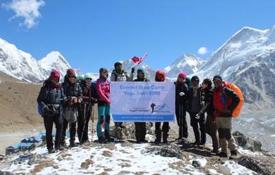 2018 Everest Base Camp Yoga Trek Participants
