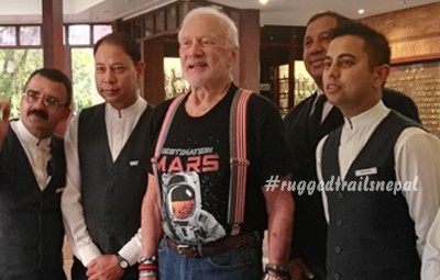 Astronaut Buzz Aldrin In Nepal