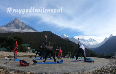 Everest Base Camp Yoga Trek 2018 October Group