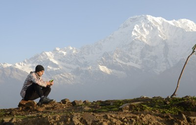 nepal is traveling not to discover new sights but to find new eyes