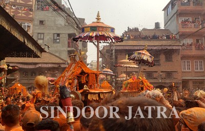 sindoor jatra thimi festival