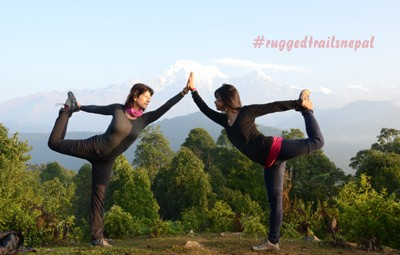 why yoga trek in nepal