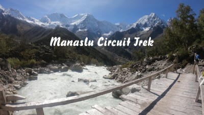 amazing manaslu circuit trek video