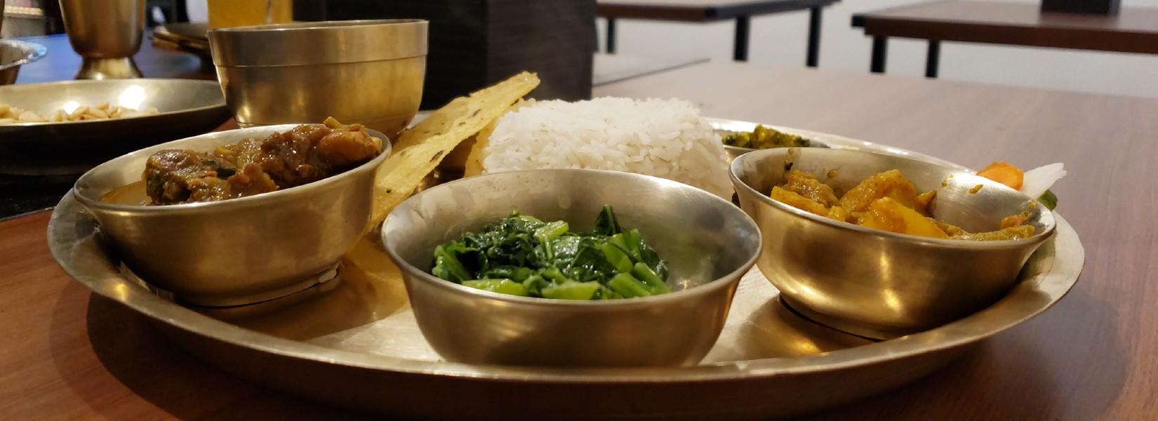 best food in the town kathmandu