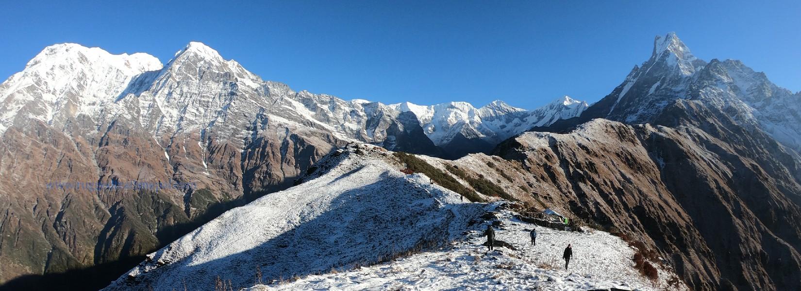 best short treks from pokhara rugged