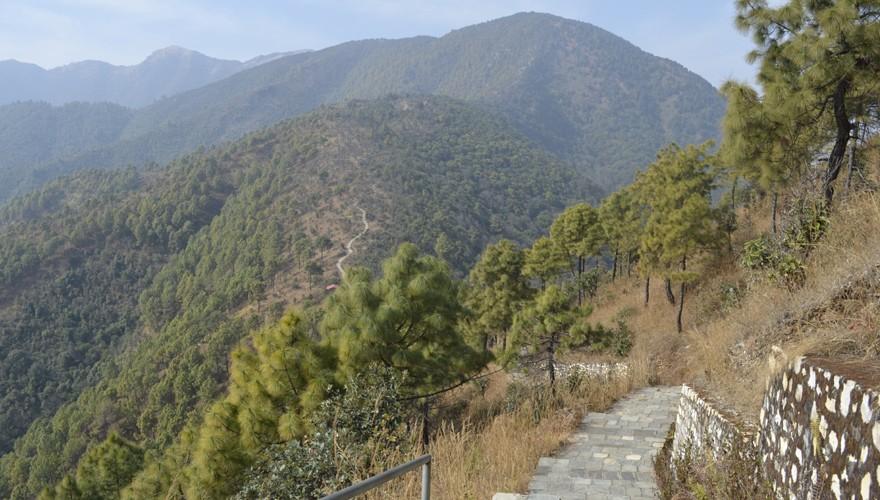 champadevi hill day hike kathmandu