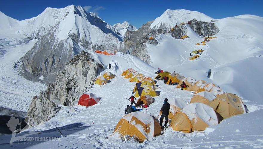 Cho Oyu Climbing