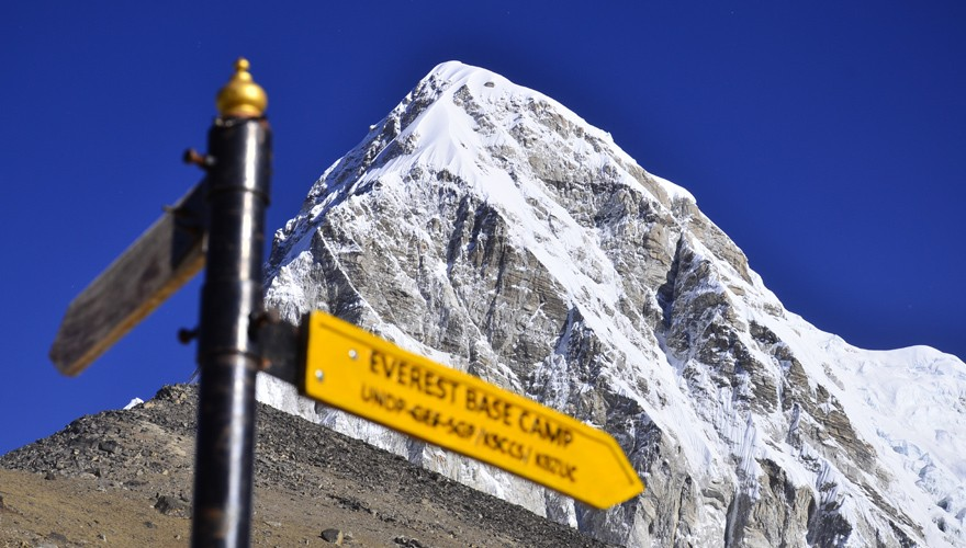 classic everest trek from jiri