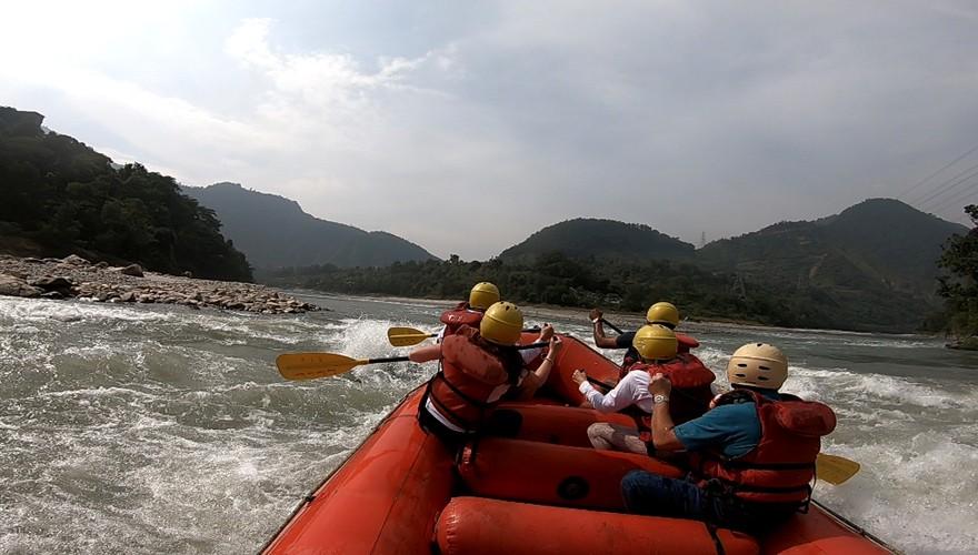 day trip rafting from kathmandu