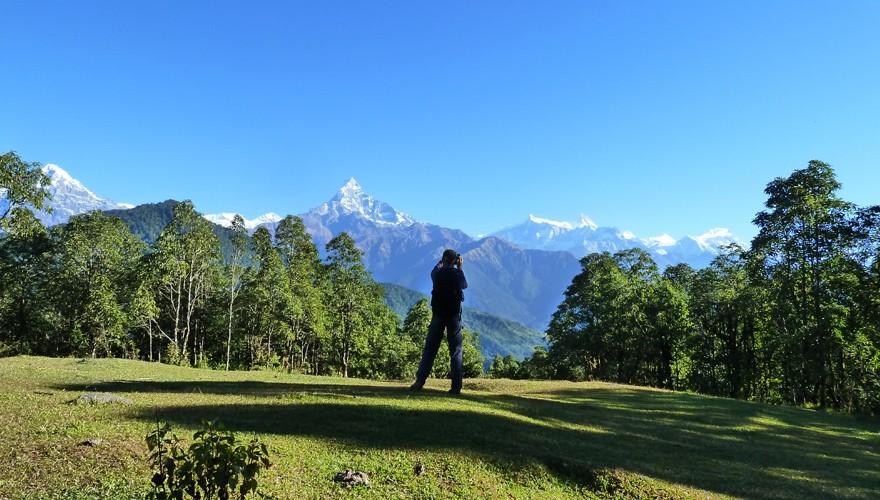 dhampus day hike pokhara