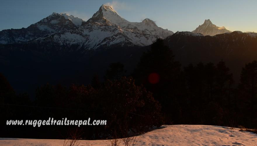 ghorepani mardi himal short trek