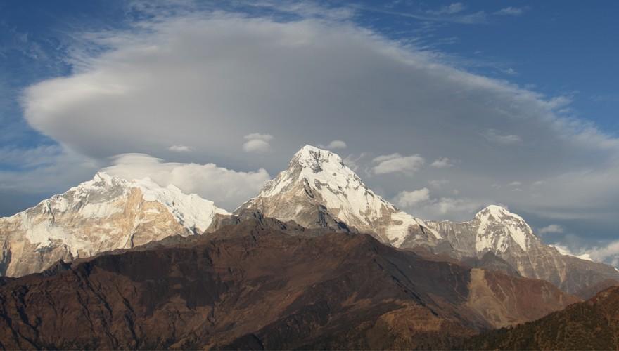 hot spring trekking nepal annapurna