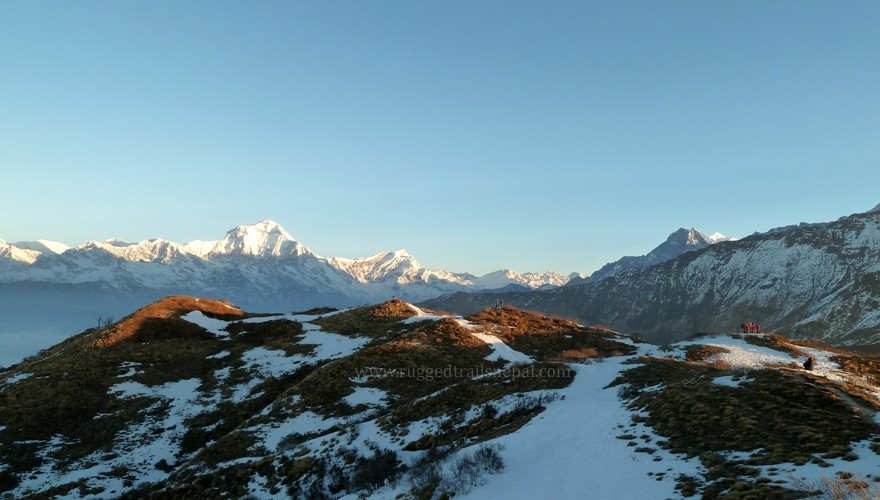 khopra ridge trek in annapurna region