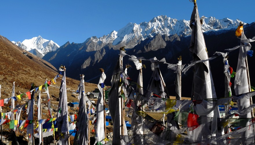 langtang valley trek kyanji gomba