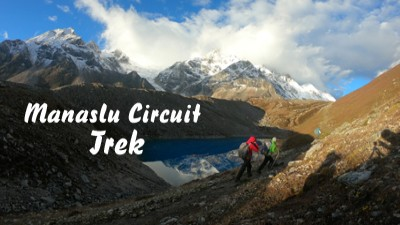 manaslu circuit tsum valley trek video