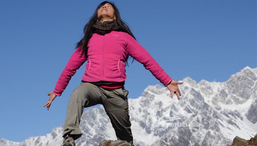 mountains healing trip nepal