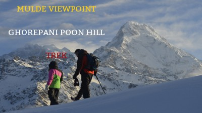 mulde ghorepani poon hill trek video