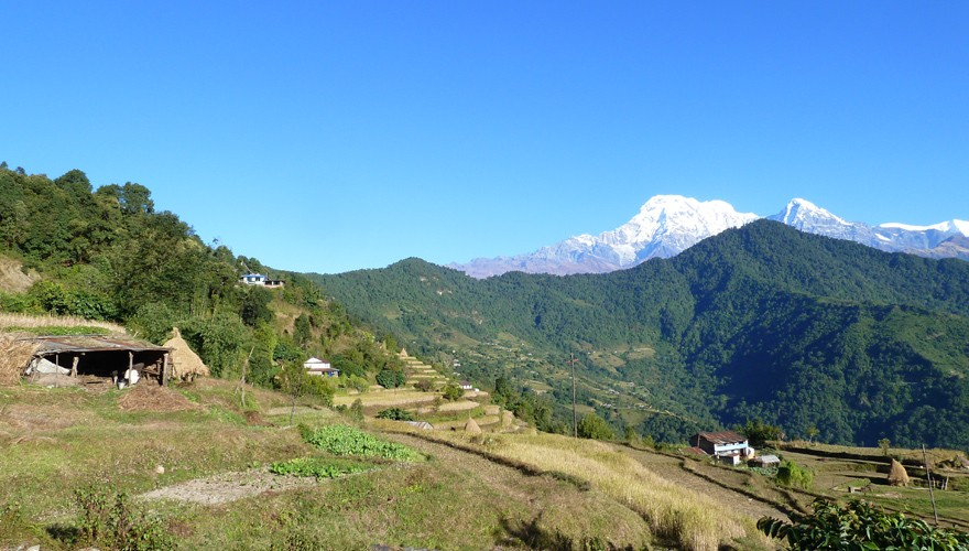 one day hike dhampus from pokhara