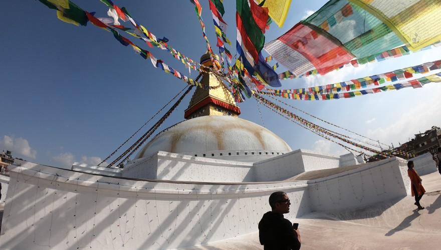one day monastery tour kathmandu