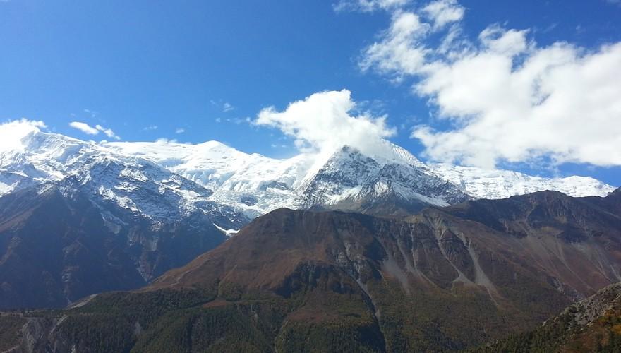 peak climbing nepal chulu far east