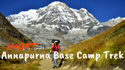 short annapurna base camp trek video