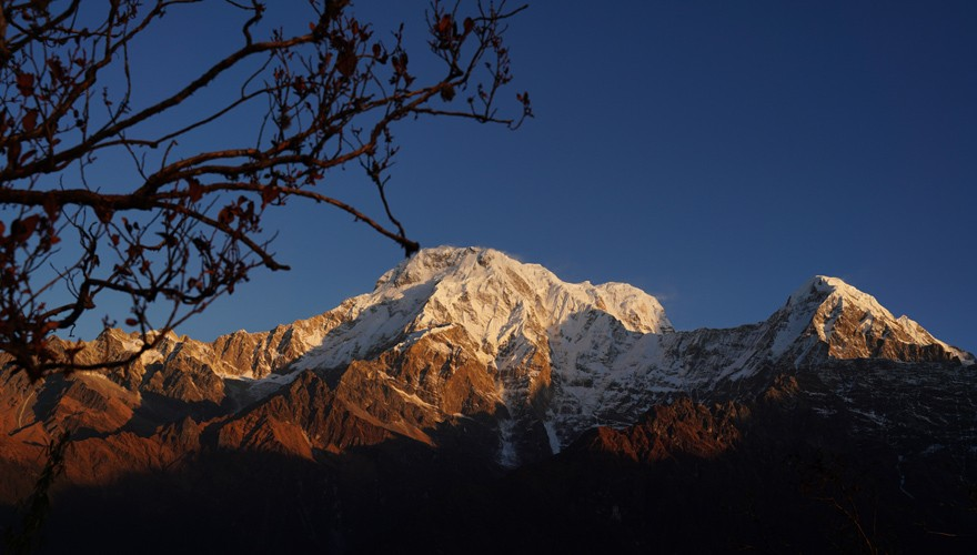 short mardi himal trek from pokhara