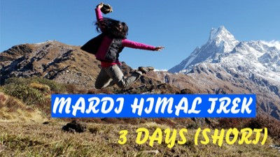 short mardi himal trek video