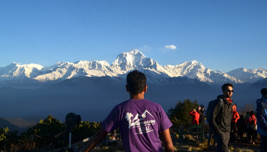 short trek from pokhara ghorepani