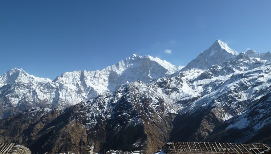 short trek nepal khopra danda