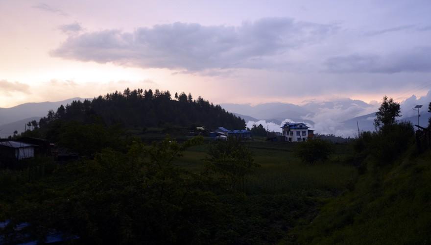 short trek nepal pikey peak