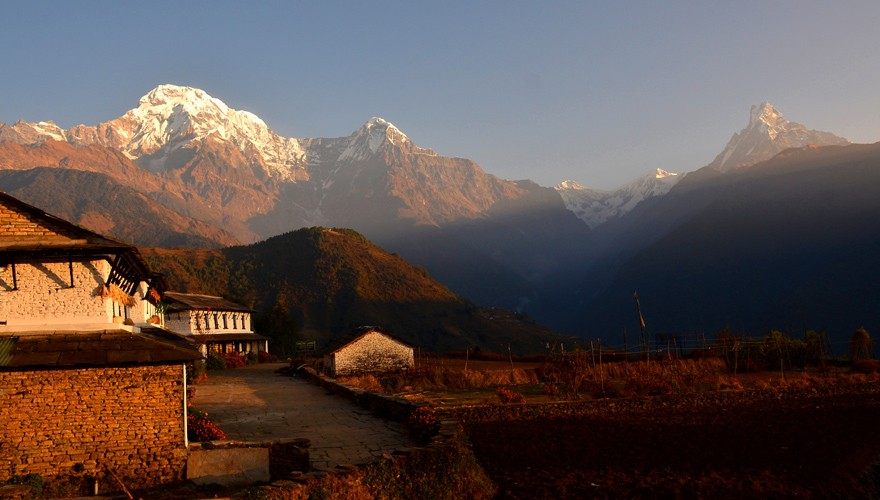 short treks from pokhara ghandruk
