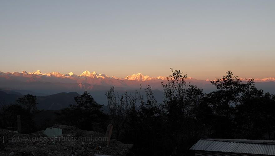 short treks in nepal balthali village