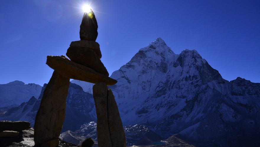 spiritual yoga trek everest