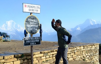 2 days ghorepani poon hill drive and trek