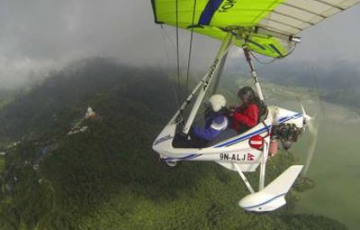 Pokhara Ultralight Flight