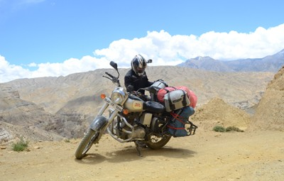 road to upper mustang