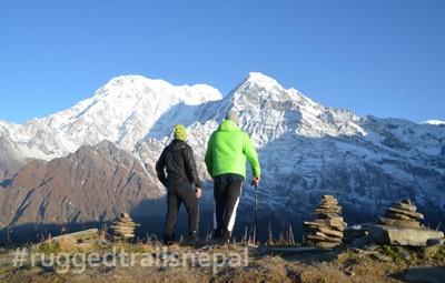 short 3 days mardi himal trek