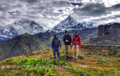 short trek khopra danda nepal