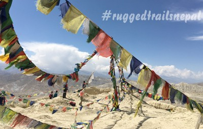 upper mustang adventure yoga trek